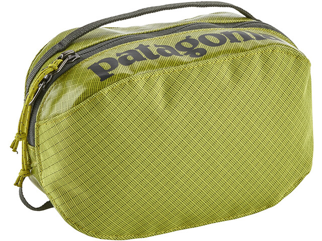 Patagonia Black Hole Cube Toiletry Bag small, folios green